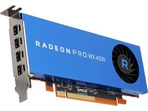 Radeon Pro WX 4100 100-506008 4GB 128-bit GDDR5 Low Profile Workstation Video Card