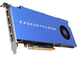 Radeon Pro WX 7100 100-505826 8GB 256-bit GDDR5 Workstation Video Card