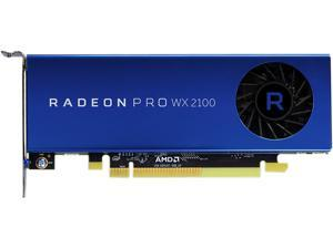 AMD Radeon Pro WX 2100 100-506001 2GB 64-bit GDDR5 PCI-Express x16 (x8 Electrical) Half Height Workstation Video Card