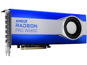 AMD Radeon Pro W6800 100-506157 32GB 256-bit GDDR6 PCI Express 4.0 x16 Workstation Video Card