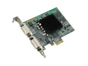 Matrox G550 G55-MDDE32F 32MB PCI Express x1 Workstation Video Card