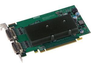 Matrox M9125 M9125-E512F 512MB GDDR2 PCI Express x16 Workstation Video Card