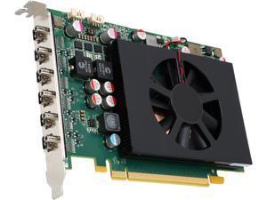 Matrox C680 C680-E4GBF 4GB GDDR5 PCI Express 3.0 x16 Full Height / Half Length Workstation Video Card