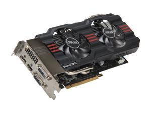 ASUS GTX660 TI-DC2T-2GD5 G-SYNC Support GeForce GTX 660 Ti 2GB 192-Bit GDDR5 PCI Express 3.0 x16 HDCP Ready SLI Support Video Card