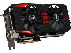 ASUS Radeon R9 280X DirectX 11.2 R9280X-DC2T-3GD5 3GB 384-Bit GDDR5 PCI Express 3.0 HDCP Ready CrossFireX Support Video Card
