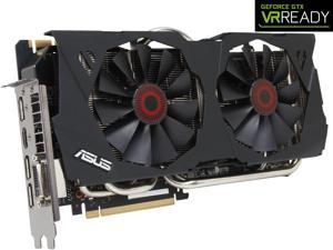 ASUS GeForce GTX 980 4GB GDDR5 PCI Express 3.0 SLI Support Video Card STRIX-GTX980-DC2OC-4GD5