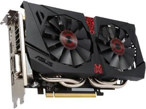 ASUS GeForce GTX 960 2GB GDDR5 PCI Express 3.0 Video Card STRIX-GTX960-DC2OC-2GD5