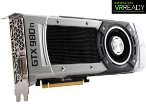 ASUS GeForce GTX 980 Ti 6GB DDR5 PCI Express 3.0 SLI Support Video Card GTX980TI-6GD5