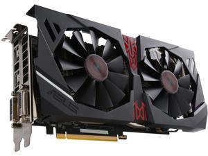 ASUS Radeon R9 380 STRIX-R9380-DC2OC-2GD5-GAMING 2GB 256-Bit GDDR5 PCI Express 3.0 HDCP Ready CrossFireX Support Video Card