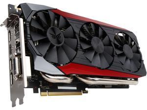 ASUS GeForce GTX 980 Ti 6GB GDDR5 PCI Express 3.0 SLI Support Video Card STRIX-GTX980TI-DC3OC-6GD5-GAMING