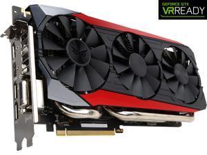 ASUS GeForce GTX 980 Ti 6GB GDDR5 PCI Express 3.0 SLI Support Video Card STRIX-GTX980TI-DC3-6GD5-GAMING