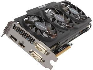 GIGABYTE Radeon R9 270X DirectX 11 GV-R927XOC-2GD 2GB 256-Bit GDDR5 PCI Express 3.0 HDCP Ready CrossFireX Support Video Card