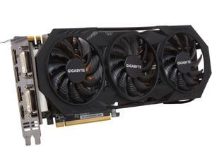 GIGABYTE GeForce GTX 970 DirectX 12 GV-N970WF3OC-4GD (rev. 1.0/1.1) 4GB 256-Bit GDDR5 PCI Express 3.0 HDCP Ready SLI Support ATX G-SYNC Support Video Card