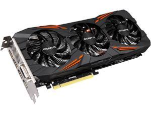 GIGABYTE GeForce GTX 1070 DirectX 12 GV-N1070G1 GAMING-8GD R2 256-Bit GDDR5 PCI Express 3.0 x16 SLI Support ATX Video Card