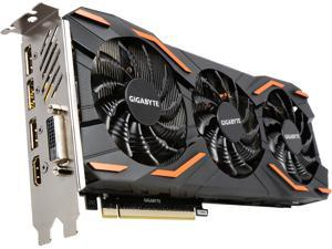 GIGABYTE GeForce GTX 1080 DirectX 12 GV-N1080WF3OC-8GD 8GB 256-Bit GDDR5X PCI Express 3.0 x16 SLI Support ATX Video Card