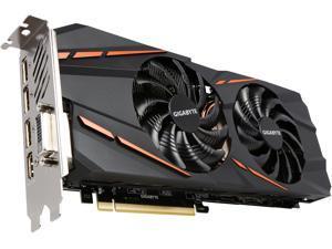 GIGABYTE GeForce GTX 1060 6GB GDDR5 PCI Express 3.0 x16 ATX Video Card GV-N1060G1 GAMING-6GD REV 2.0