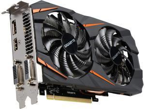 GIGABYTE GeForce GTX 1060 DirectX 12 GV-N1060WF2OC-6GD 6GB 192-Bit GDDR5 PCI Express 3.0 x16 ATX Video Card