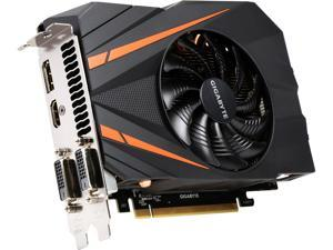 GIGABYTE GeForce GTX 1060 DirectX 12 GV-N1060IXOC-6GD 6GB 192-Bit GDDR5 PCI Express 3.0 x16 ATX Video Card