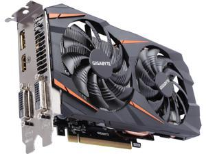 GIGABYTE GeForce GTX 1060 DirectX 12 GV-N1060WF2OC-3GD 3GB 192-Bit GDDR5 PCI Express 3.0 x16 ATX Video Card