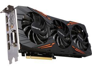 GIGABYTE GeForce GTX 1070 DirectX 12 GV-N1070G1 GAMING-8GD 8GB 256-Bit GDDR5 PCI Express 3.0 x16 ATX Video Cards