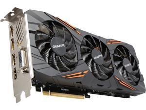 GIGABYTE GeForce GTX 1080 8GB GDDR5X PCI Express 3.0 x16 ATX Video Cards GV-N1080G1 GAMING-8GD