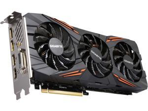 GIGABYTE GeForce GTX 1070 8GB GDDR5 PCI Express 3.0 x16 SLI Support ATX Video Card GV-N1070G1 GAMING-8GD R2