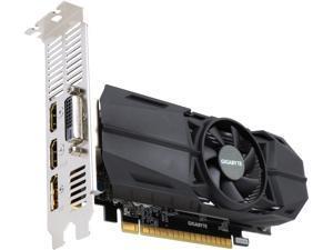 GIGABYTE GeForce GTX 1050 Ti OC Low Profile 4GB Video Card, GBTGV-N105TOC-4GL