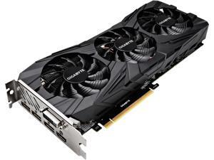 GIGABYTE GeForce GTX 1080 Ti DirectX 12 GV-N108TGAMINGOC BLACK-11GD 11GB 352-Bit GDDR5X PCI Express 3.0 x16 ATX Video Card