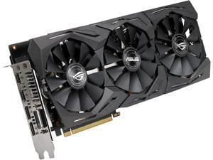 ASUS ROG Strix Radeon RX 590 8GB GDDR5 CrossFireX Support Video Card ROG-STRIX-RX590-8G-GAMING