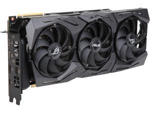 ASUS ROG GeForce RTX 2080 Ti DirectX 12 ROG-STRIX-RTX2080TI-O11G-GAMING 11GB 352-Bit GDDR6 PCI Express 3.0 HDCP Ready CrossFireX Support SLI Support Video Card