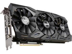 ASUS ROG GeForce GTX 1070 STRIX-GTX1070-O8G-GAMING 8GB 256-Bit GDDR5 PCI Express 3.0 HDCP Ready Video Card with RGB Lighting
