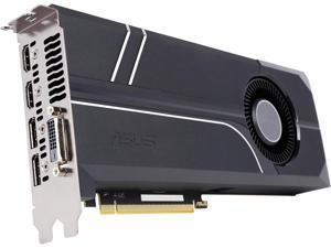 ASUS GeForce GTX 1080 8GB GDDR5X PCI Express 3.0 SLI Support Video Card TURBO-GTX1080-8G