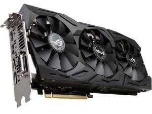 ASUS ROG GeForce GTX 1060 STRIX-GTX1060-O6G-GAMING 6GB 192-Bit GDDR5 PCI Express 3.0 HDCP Ready Video Card