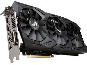 ASUS ROG GeForce GTX 1060 6GB GDDR5 PCI Express 3.0 Video Card STRIX-GTX1060-6G-GAMING