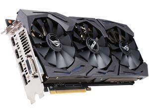 ASUS ROG Radeon RX 480 STRIX-RX480-O8G-GAMING 8GB 256-Bit GDDR5 PCI Express 3.0 HDCP Ready Video Card