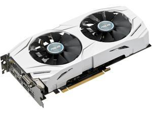 ASUS Radeon RX 480 DirectX 12 DUAL-RX480-O4G 4GB 256-Bit GDDR5 PCI Express 3.0 HDCP Ready CrossFireX Support Video Card