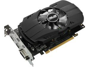 ASUS GeForce GTX 1050 Ti 4GB PHOENIX Fan Edition DVI-D HDMI DP 1.4 Gaming Graphics Card (PH-GTX1050Ti-4G)