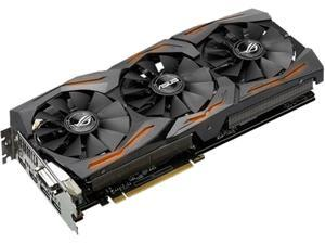 ASUS ROG GeForce GTX 1080 ROG STRIX-GTX1080-O8G-GAMING (90YV09M1-M0NM00) 8GB 256-Bit GDDR5X PCI Express 3.0 HDCP Ready Video Card