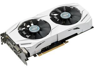 ASUS Radeon RX 480 DirectX 12 DUAL-RX480-O8G 8GB 256-Bit GDDR5 HDCP Ready CrossFireX Support Video Card