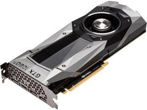ASUS GeForce GTX 1080 TI 11GB GDDR5X Founders Edition VR Ready 5K HD Gaming HDMI DisplayPort PCIe Graphics Card (GTX1080TI-FE)