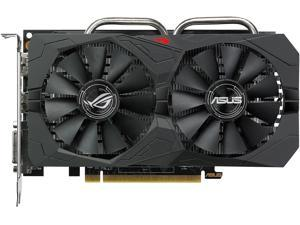 ASUS ROG Strix Radeon RX 560 O4GB Gaming OC Edition GDDR5 DP HDMI DVI AMD Graphics Card (ROG-STRIX-RX560-O4G-GAMING)