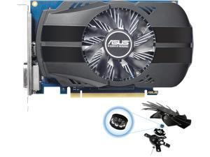 ASUS GeForce GT 1030 2GB Phoenix Fan OC Edition HDMI DVI Graphics Card (PH-GT1030-O2G)