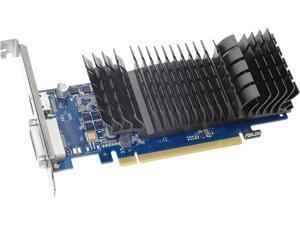 ASUS GeForce GT 1030 DirectX 12 GT1030-SL-2G-BRK 2GB 64-Bit GDDR5 PCI Express 3.0 HDCP Ready Video Card