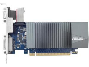 ASUS GeForce GT 710 GT710-SL-2GD5 2GB 64-Bit GDDR5 PCI Express 2.0 HDCP Ready Video Card