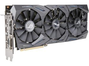 ASUS ROG STRIX GeForce GTX 1060 DirectX 12 ROG-STRIX-GTX1060-A6G-GAMING 6GB 192-Bit GDDR5 PCI Express 3.0 HDCP Ready Video Card