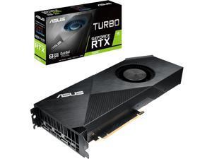 ASUS GeForce RTX 2080 8G Turbo Edition GDDR6 HDMI DP 1.4 USB Type-C Graphics Card(TURBO-RTX2080-8G)