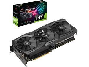 ASUS ROG Strix GeForce RTX 2070 DirectX 12 ROG-STRIX-RTX2070-O8G-GAMING 8GB 256-Bit GDDR6 PCI Express 3.0 HDCP Ready Video Card