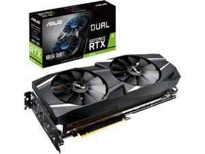 ASUS Dual GeForce RTX 2070 DirectX 12 DUAL-RTX2070-8G 8GB 256-Bit GDDR6 PCI Express 3.0 HDCP Ready Video Card