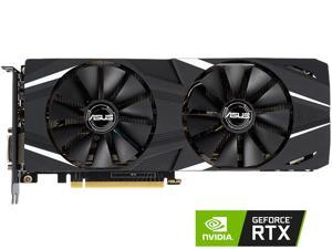 ASUS Dual GeForce RTX 2060 DirectX 12 DUAL-RTX2060-O6G 6GB 192-Bit GDDR6 PCI Express 3.0 HDCP Ready Video Card