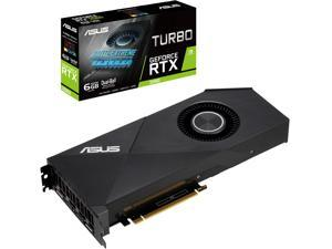 ASUS Turbo GeForce RTX 2060 DirectX 12 TURBO-RTX2060-6G 6GB 192-Bit GDDR6 PCI Express 3.0 HDCP Ready Video Card